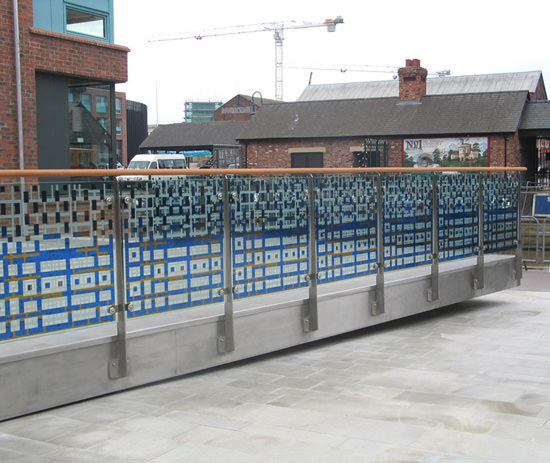 Gloucester Docks balustrade