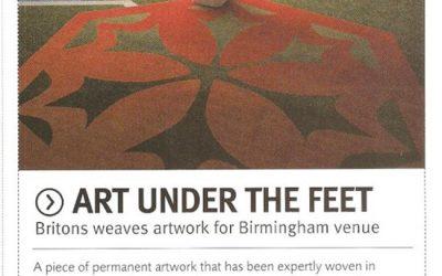 Art under the feet